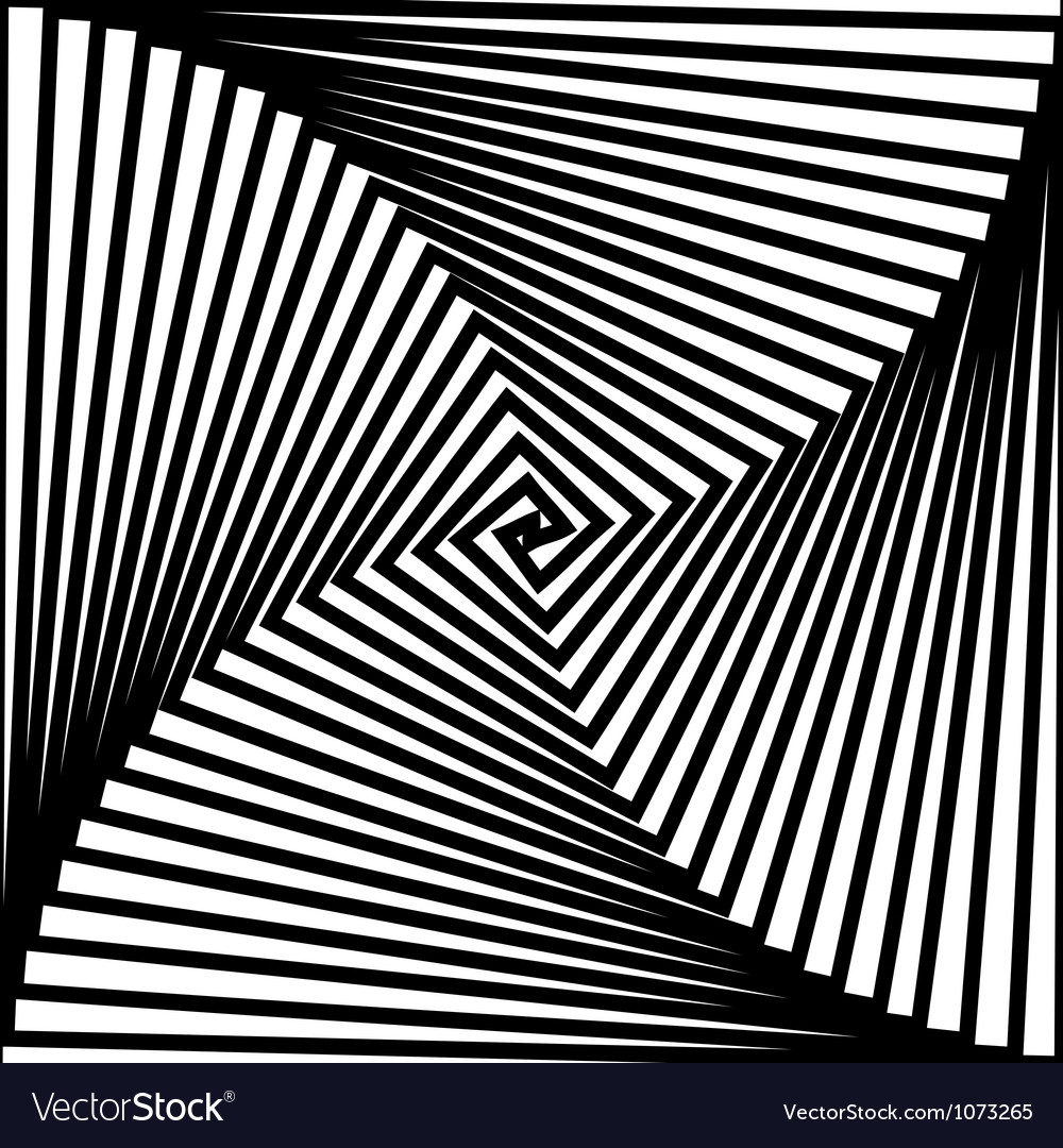 Black and white hypnotic background vector   Price: 1 Credit (USD $1)