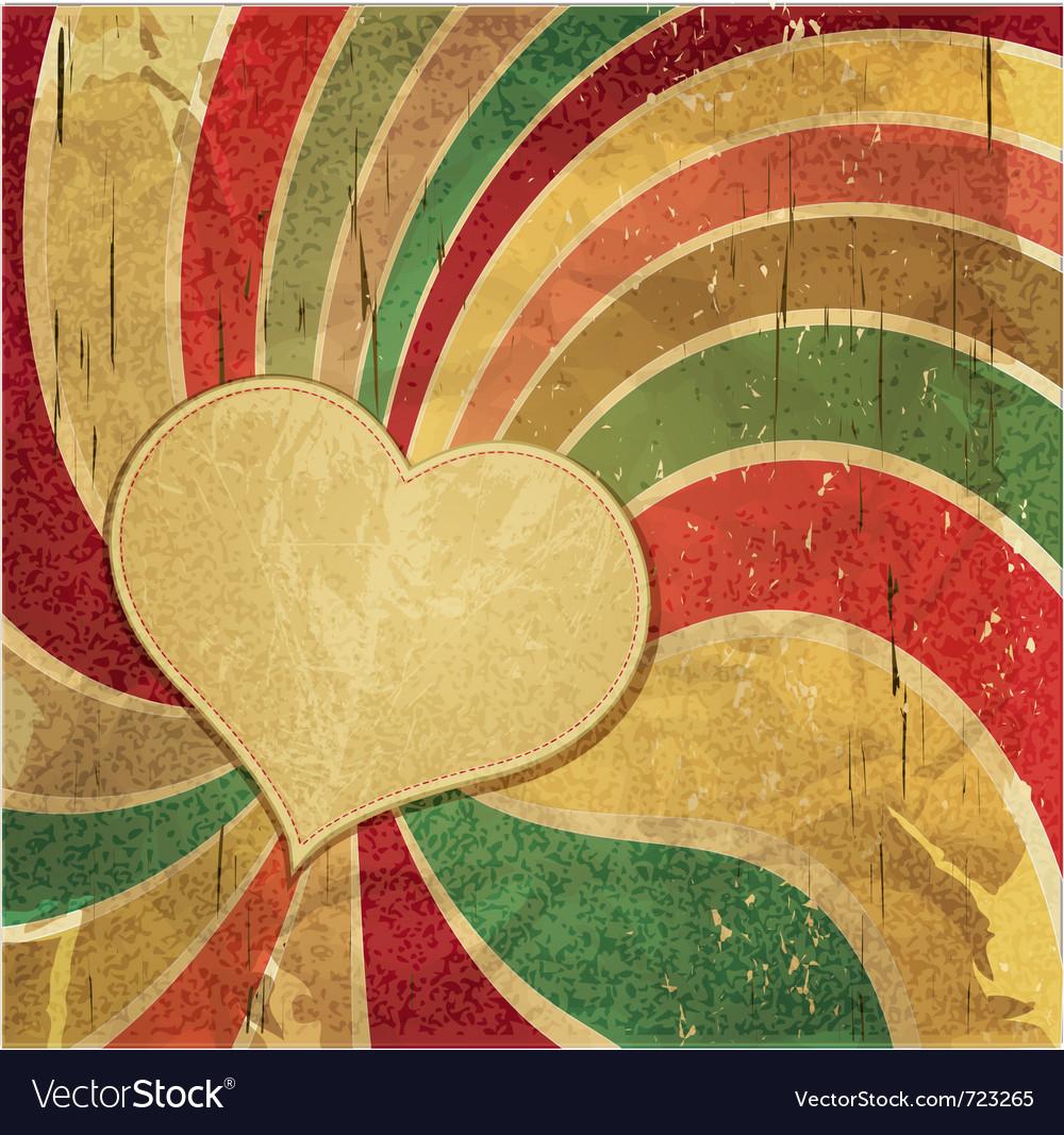 Vintage romantic grunge vector | Price: 1 Credit (USD $1)