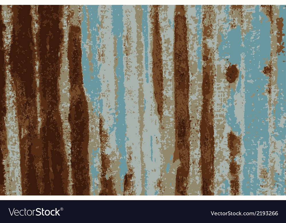 Background rusty galvanized iron plate vector | Price: 1 Credit (USD $1)