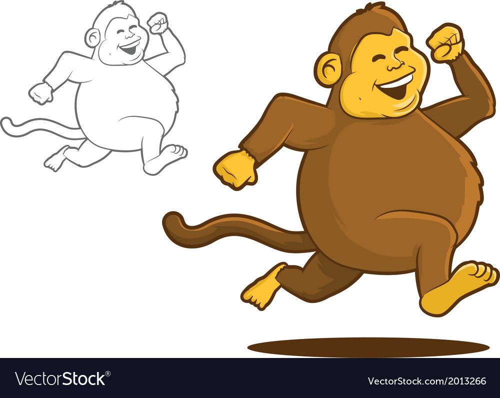 Chunky monkey vector   Price: 1 Credit (USD $1)