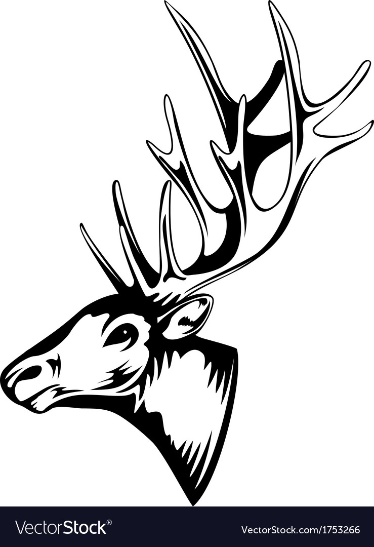 Elk vector | Price: 1 Credit (USD $1)
