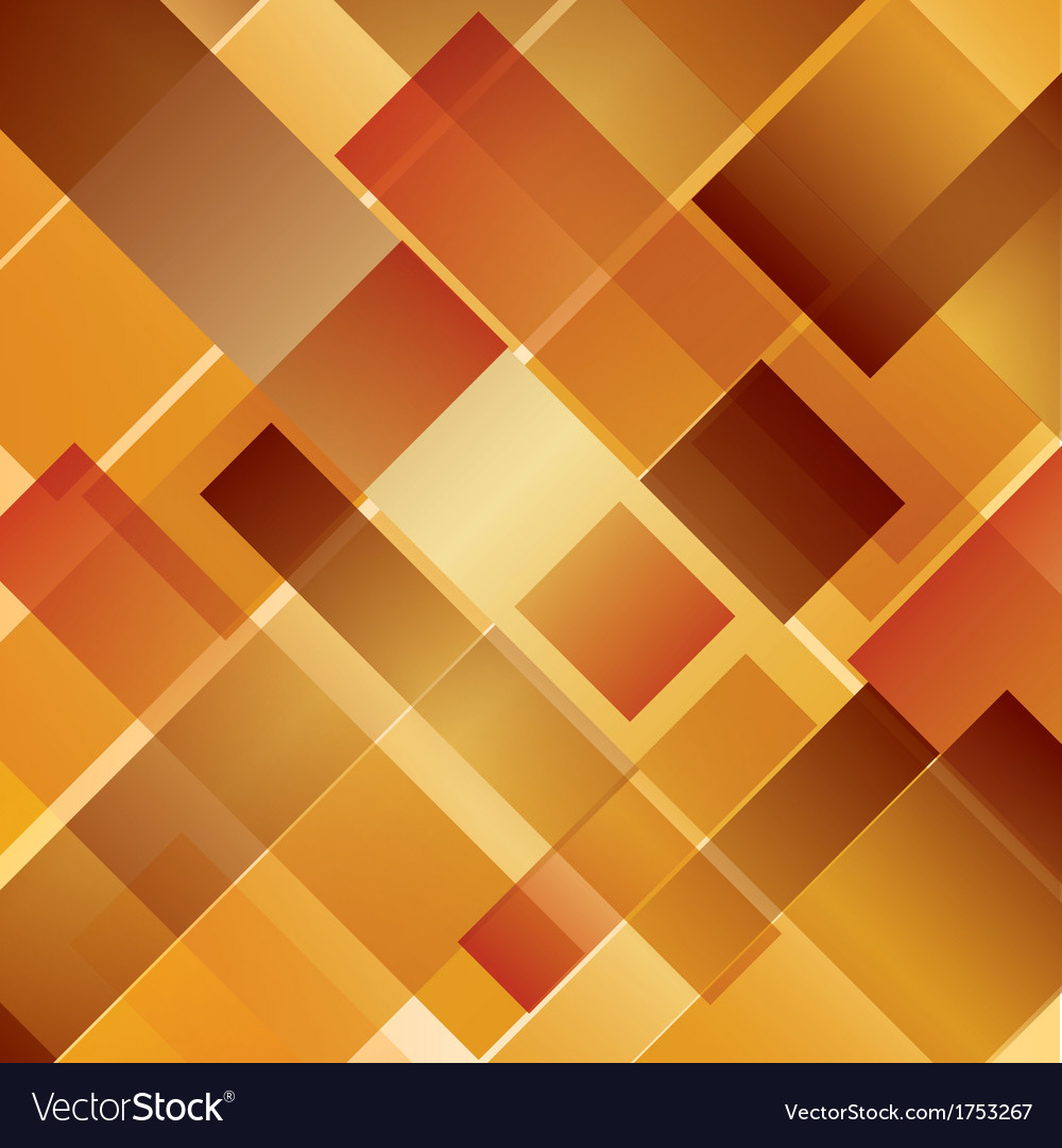 Abstract background intersected rectangles autumn vector | Price: 1 Credit (USD $1)