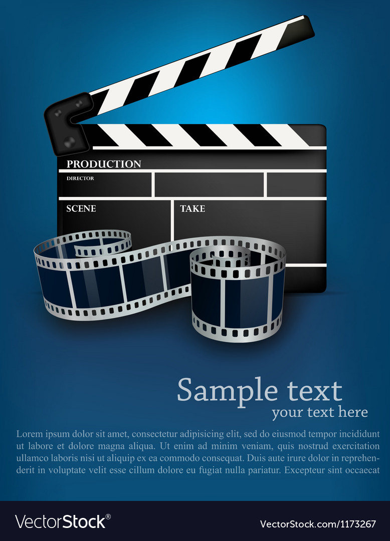 Cinema background vector | Price: 3 Credit (USD $3)