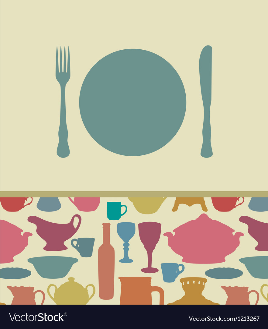 Menu background vector | Price: 1 Credit (USD $1)