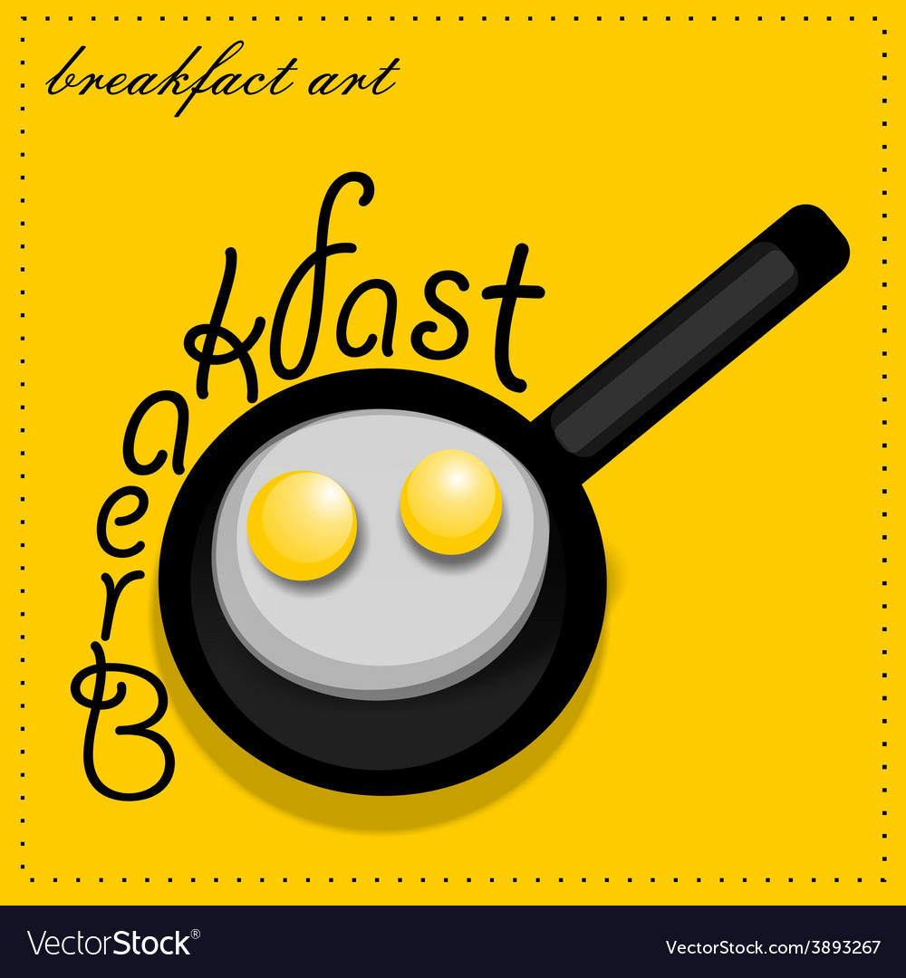 Scrambled eggs vector | Price: 1 Credit (USD $1)