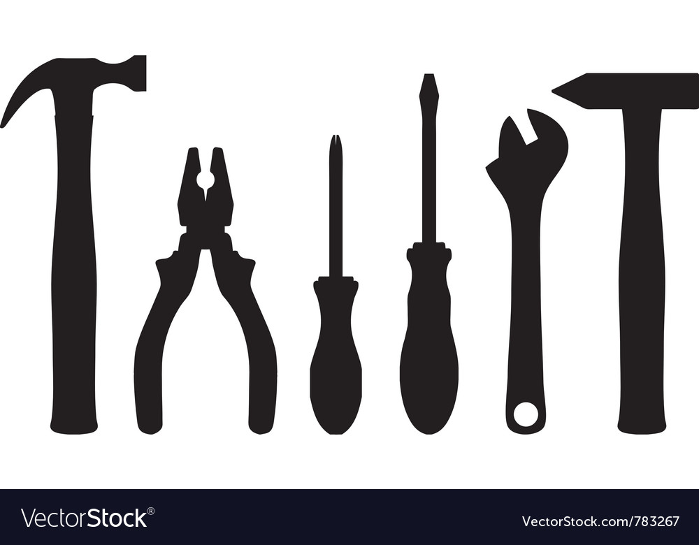 Work tools vector | Price: 1 Credit (USD $1)