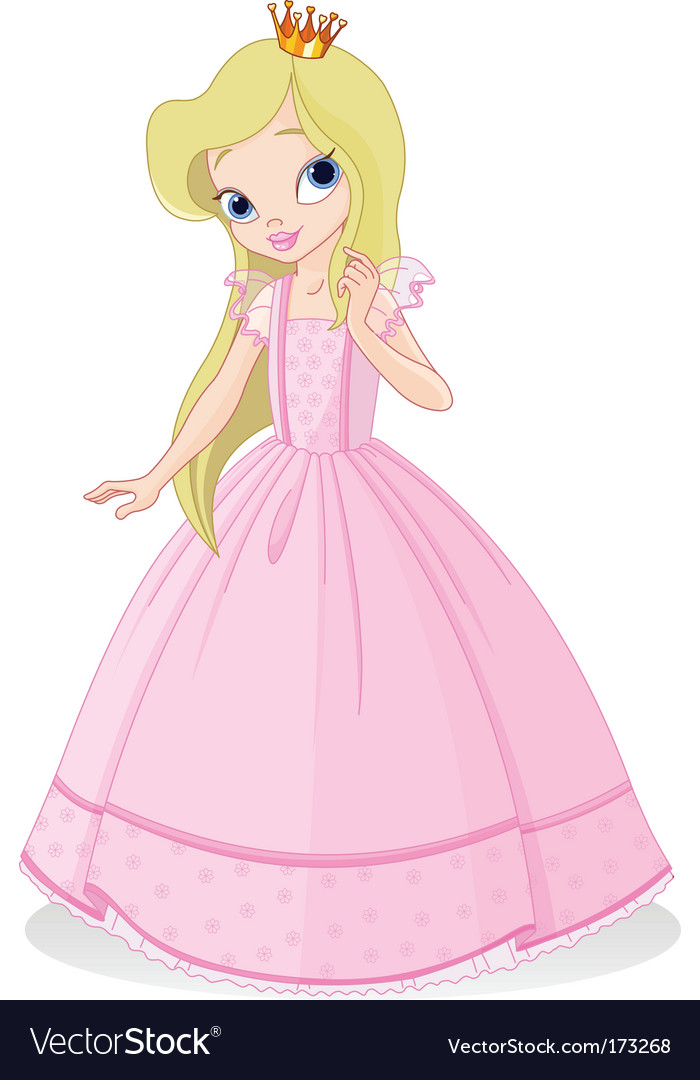 Beautiful princess vector | Price: 3 Credit (USD $3)