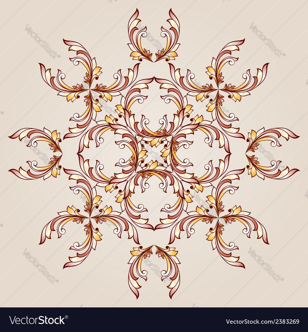 Flower henna vector | Price: 1 Credit (USD $1)
