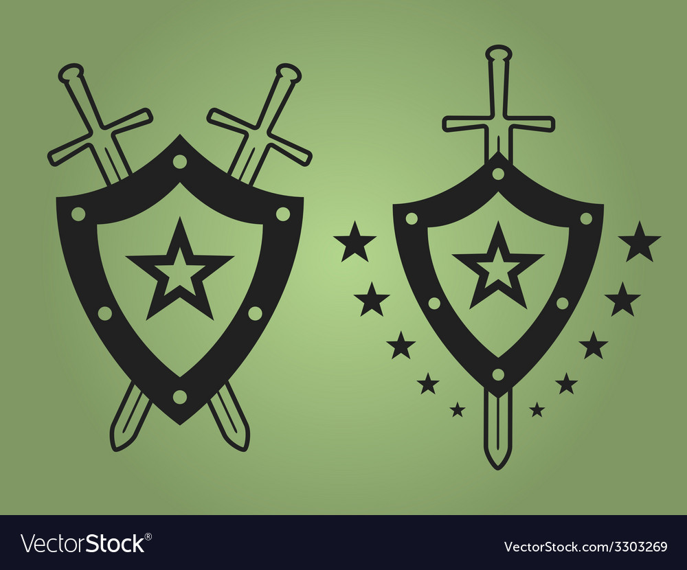 Military style emblems vector | Price: 1 Credit (USD $1)