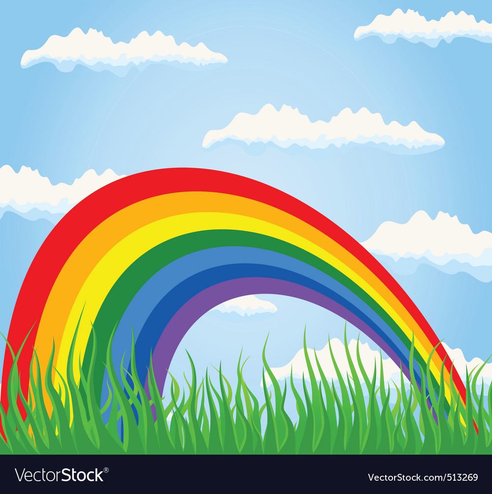 Rainbow2 vector | Price: 1 Credit (USD $1)