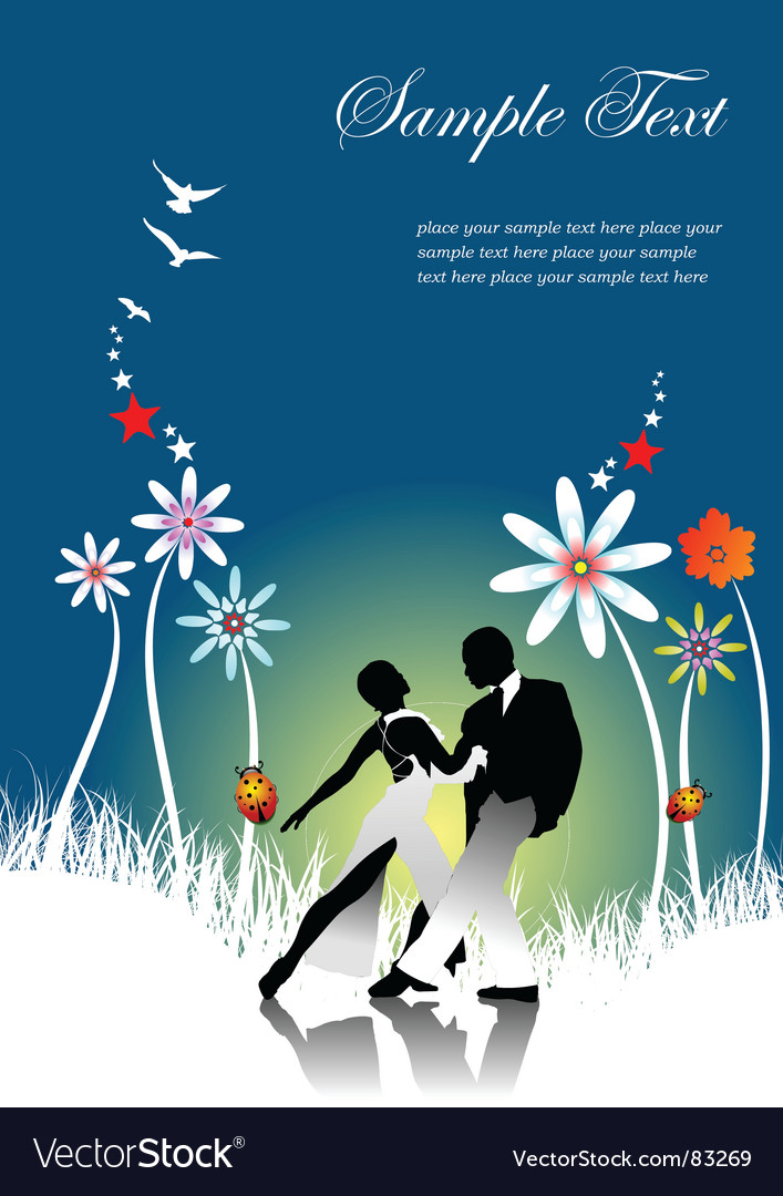Summer dance vector | Price: 1 Credit (USD $1)