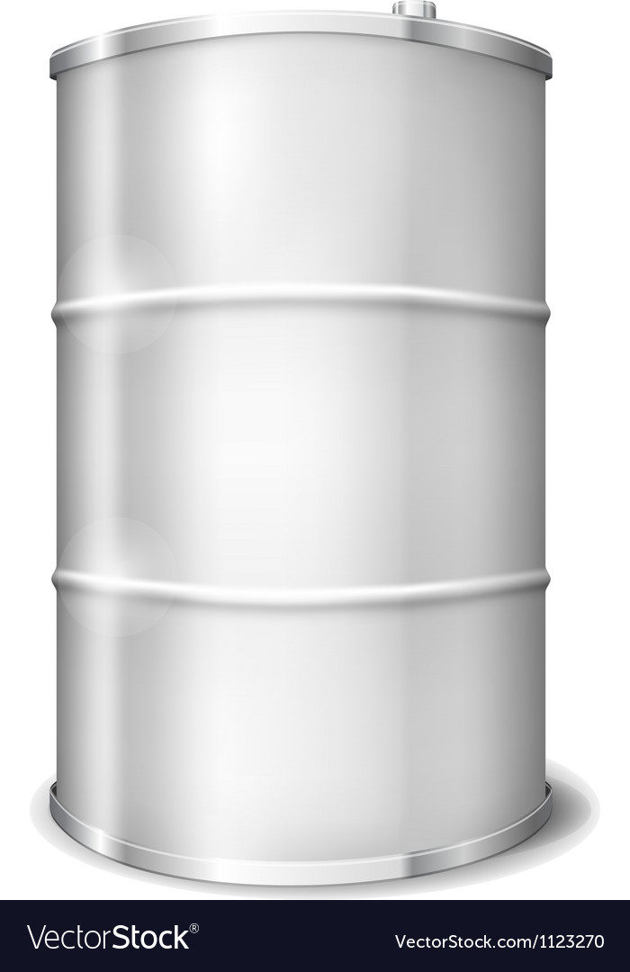 Metal barrel vector | Price: 1 Credit (USD $1)
