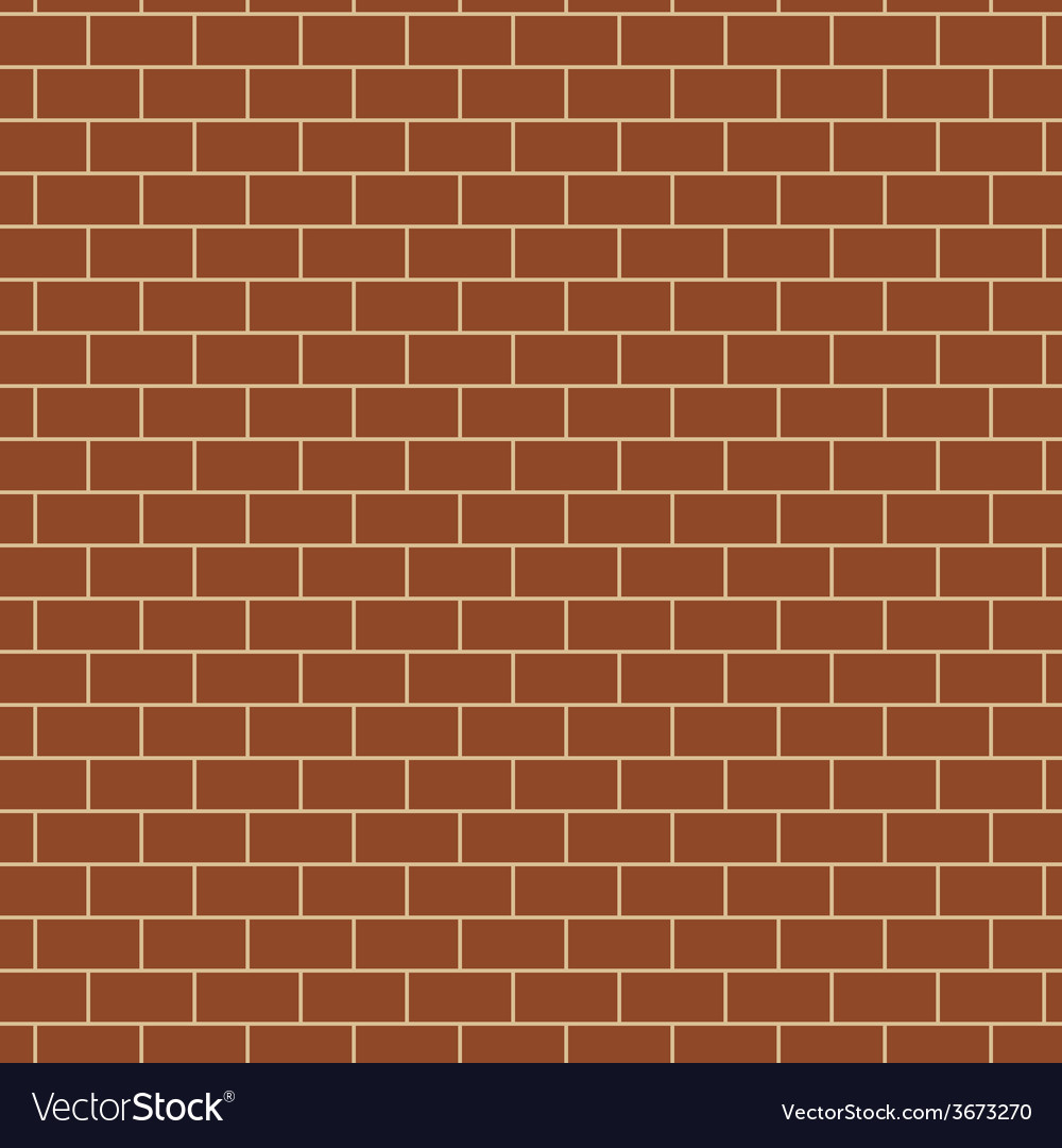 Seamless pattern with brick wall texture vector | Price: 1 Credit (USD $1)
