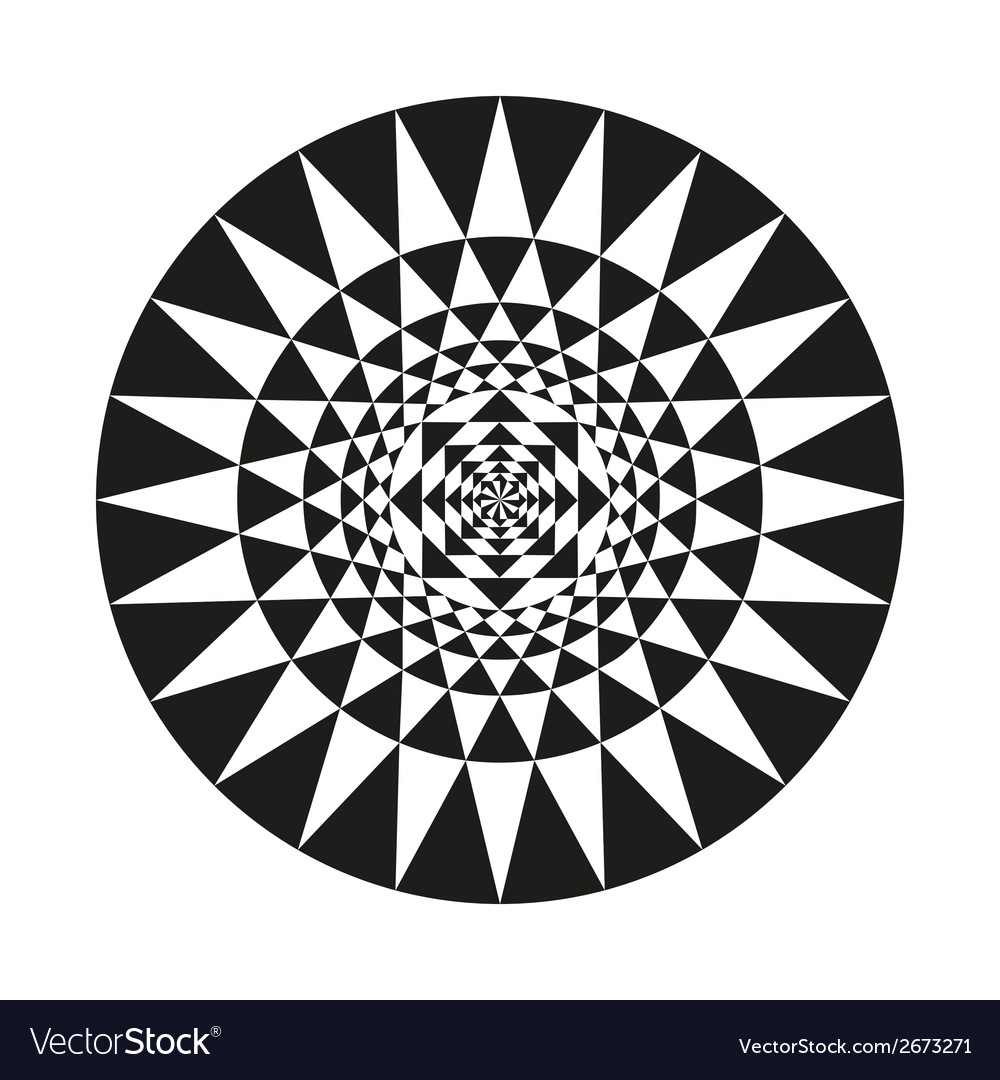 Circle of abstract isolated vector | Price: 1 Credit (USD $1)