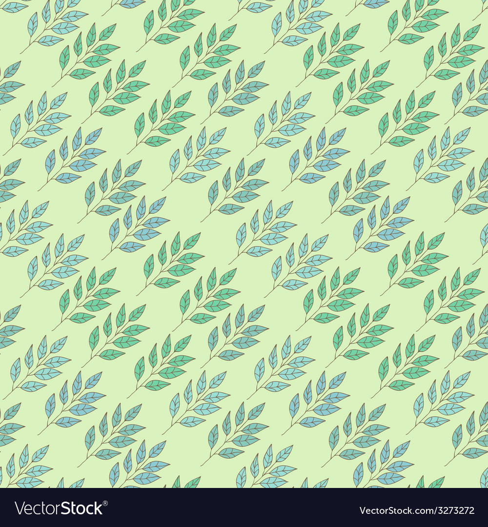 Abstract background with leaves vector | Price: 1 Credit (USD $1)