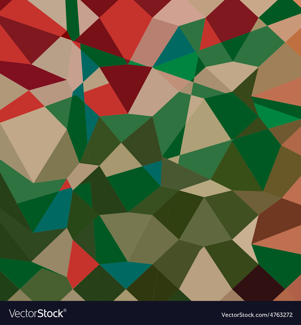 Amazon green abstract low polygon background vector | Price: 1 Credit (USD $1)