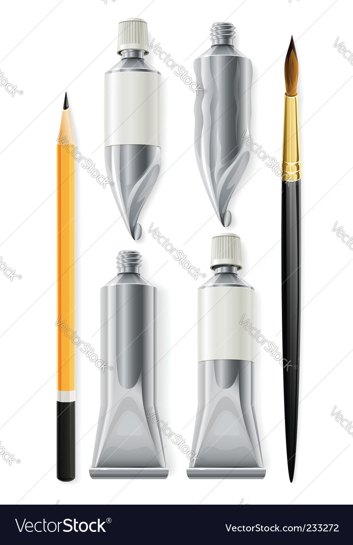 Artist tools vector | Price: 3 Credit (USD $3)