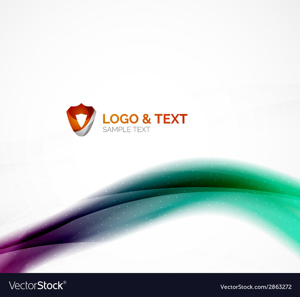 Blurred shiny wave purple and blue colors vector   Price: 1 Credit (USD $1)