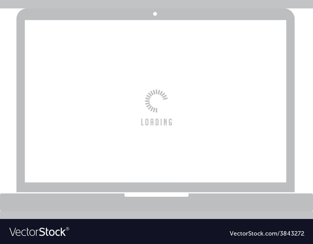 Notebook laptop computer vector | Price: 1 Credit (USD $1)
