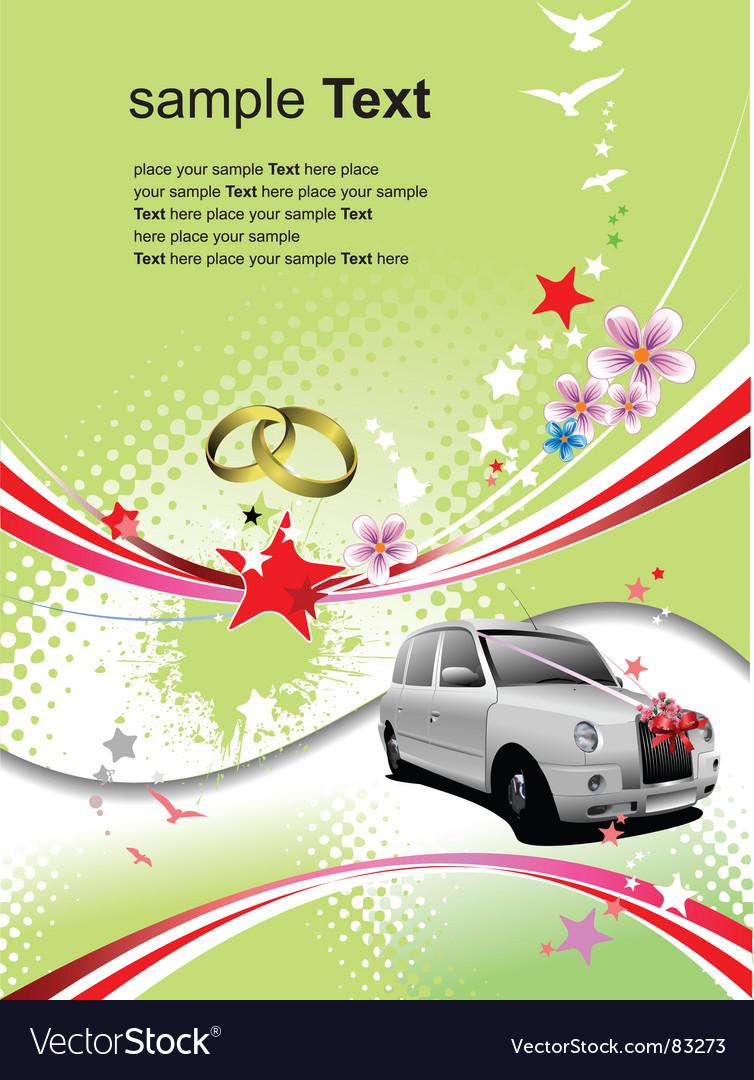 Wedding invitation vector | Price: 1 Credit (USD $1)