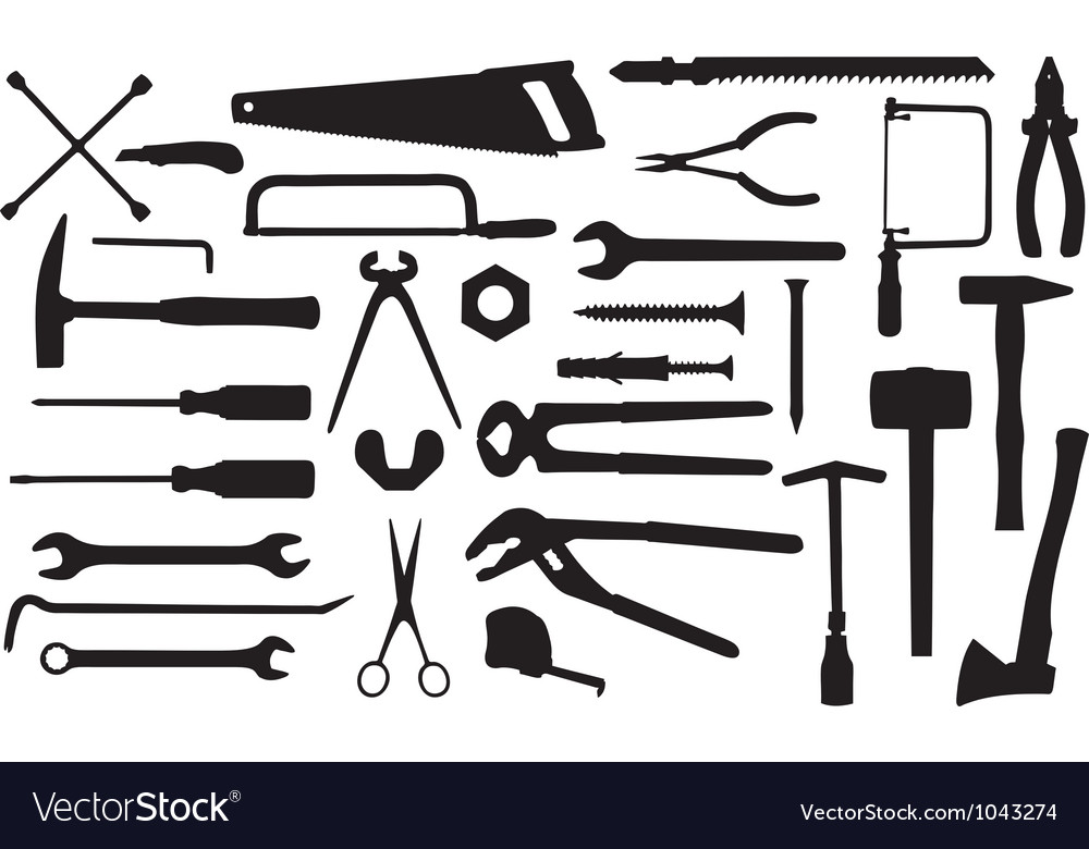 Different tools vector | Price: 1 Credit (USD $1)
