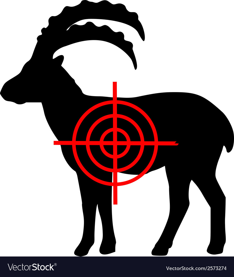 Ibex crosslines vector | Price: 1 Credit (USD $1)