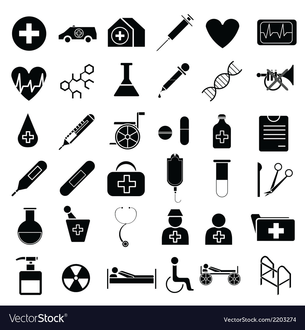 Medical equipment vector | Price: 1 Credit (USD $1)