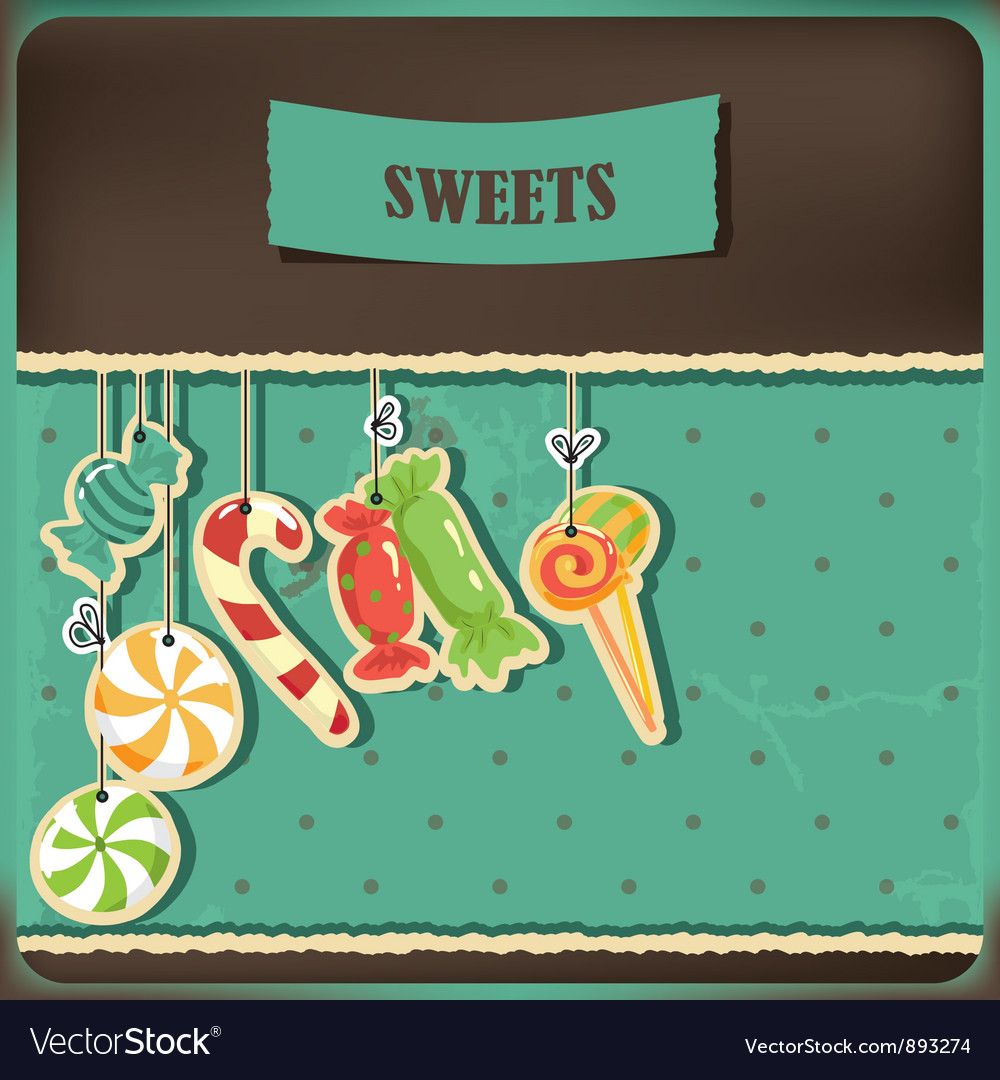 Sweet vintage vector | Price: 1 Credit (USD $1)