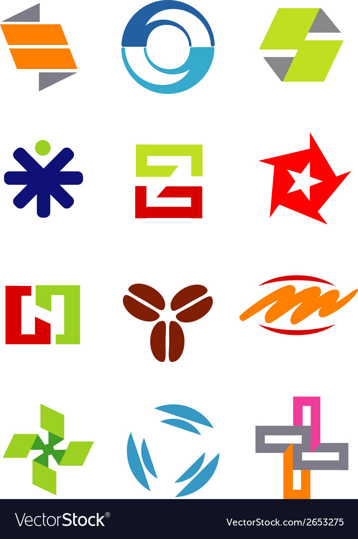 Creative design symbols icons vector | Price: 1 Credit (USD $1)