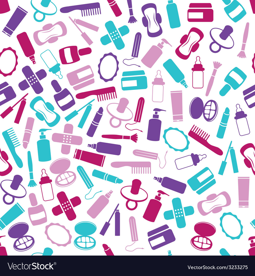 Drugstore seamless pattern vector | Price: 1 Credit (USD $1)