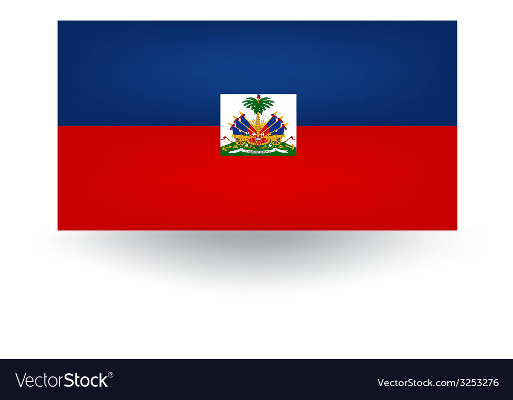 Haiti flag vector | Price: 1 Credit (USD $1)