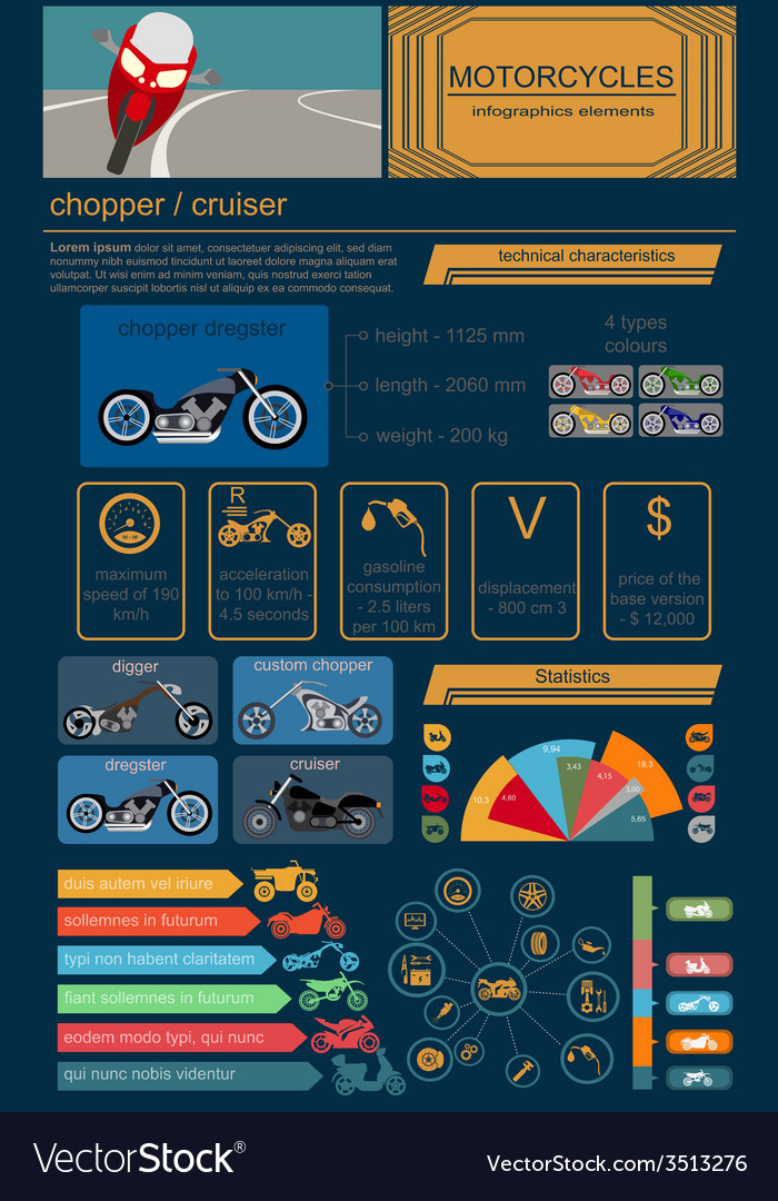 Transportation infographic vector | Price: 1 Credit (USD $1)