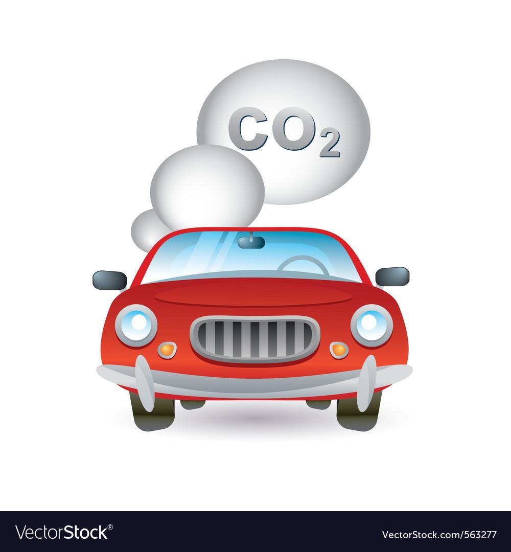 Car pollution icon vector | Price: 1 Credit (USD $1)