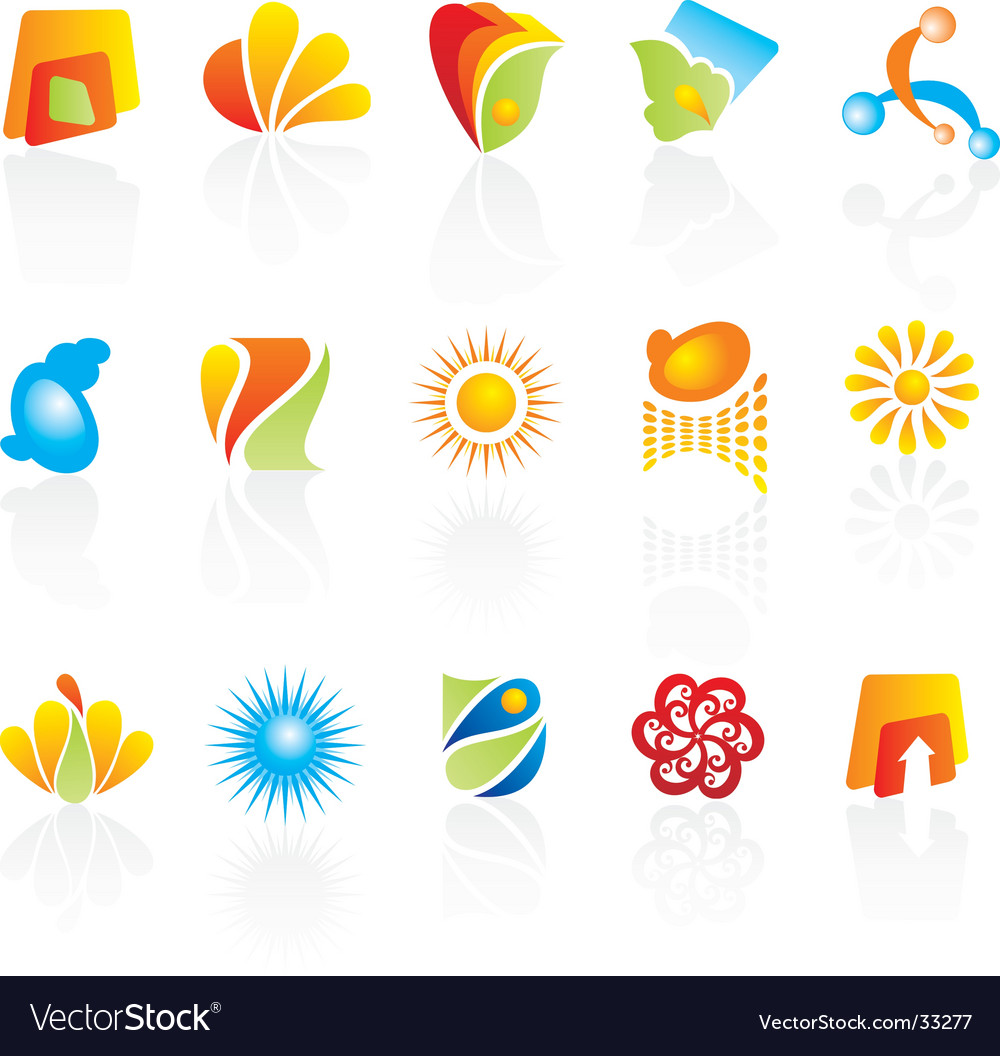 Logo elements vector | Price: 1 Credit (USD $1)