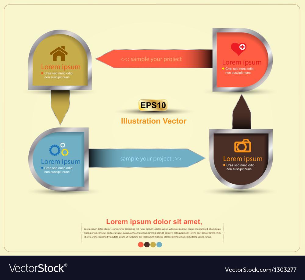 Semicircle silver border vector | Price: 1 Credit (USD $1)