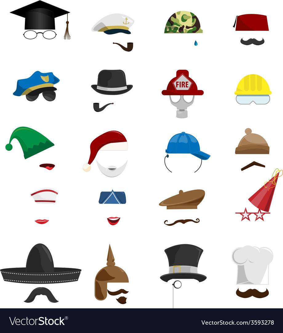 Hats vector | Price: 1 Credit (USD $1)