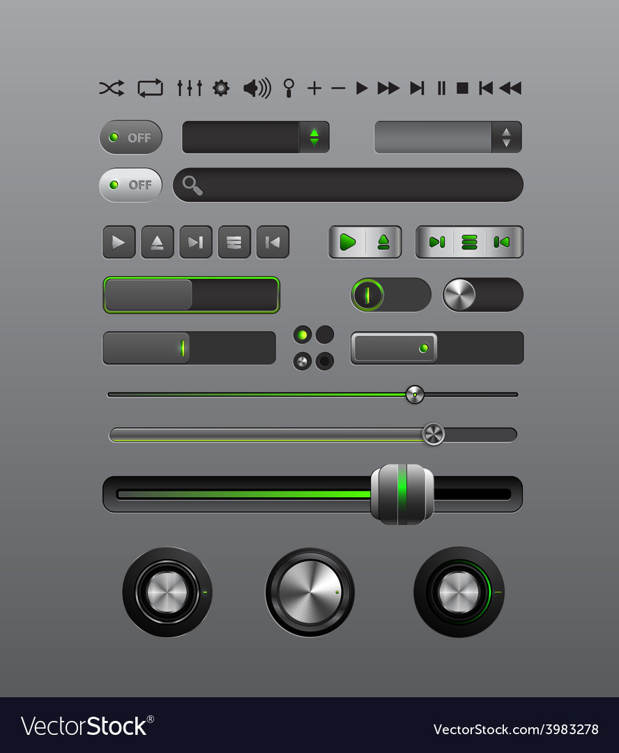 Musical player vector | Price: 3 Credit (USD $3)