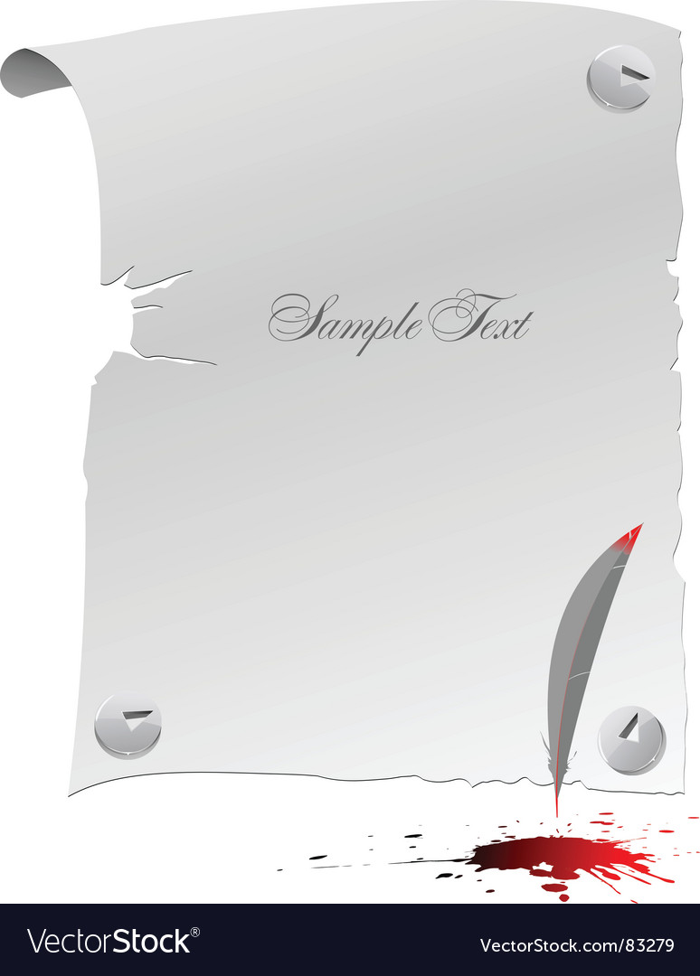Blank page vector | Price: 1 Credit (USD $1)