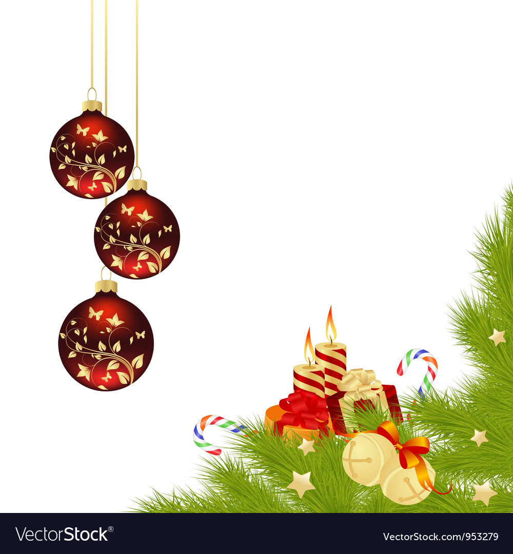 Christmas frame 2 vector | Price: 1 Credit (USD $1)