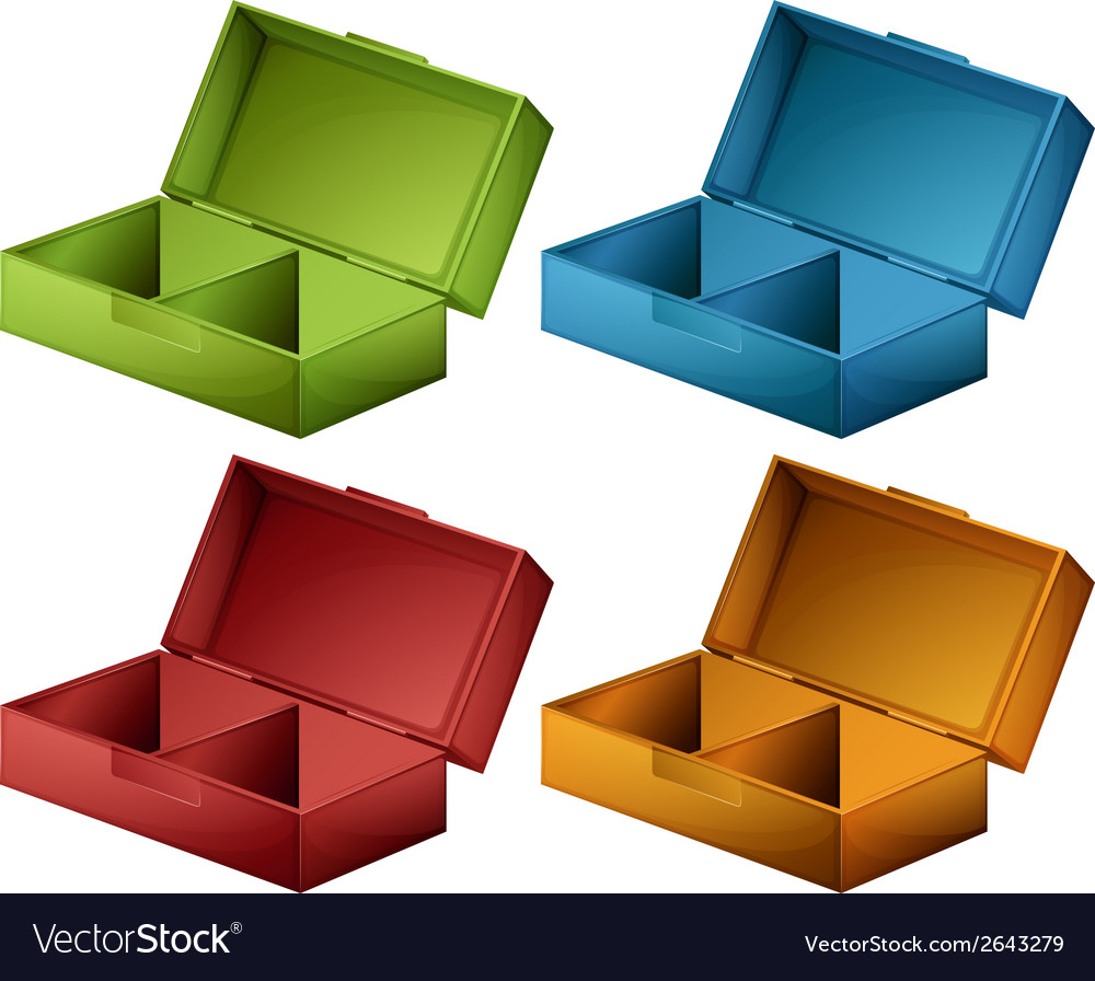 Coloured boxes vector | Price: 1 Credit (USD $1)