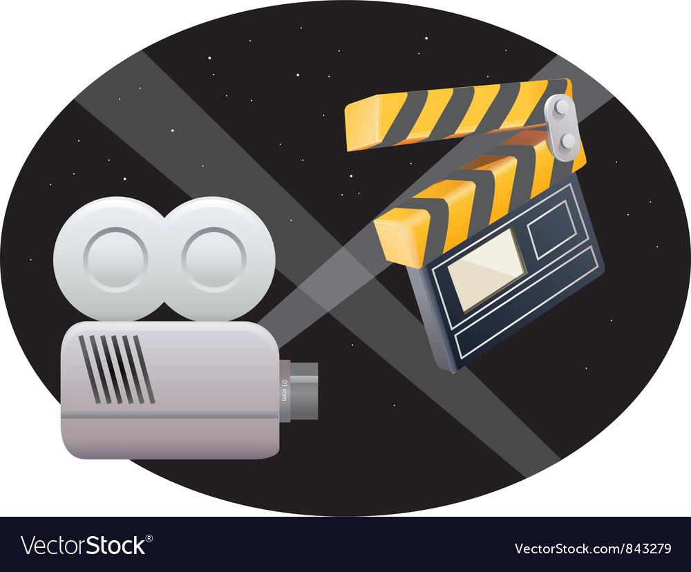 Film icons vector