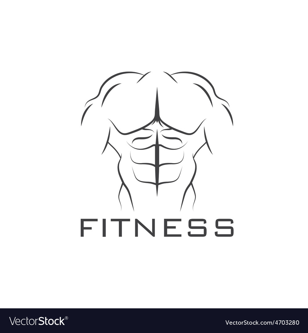 Bodybuilder fitness model vector   Price: 1 Credit (USD $1)