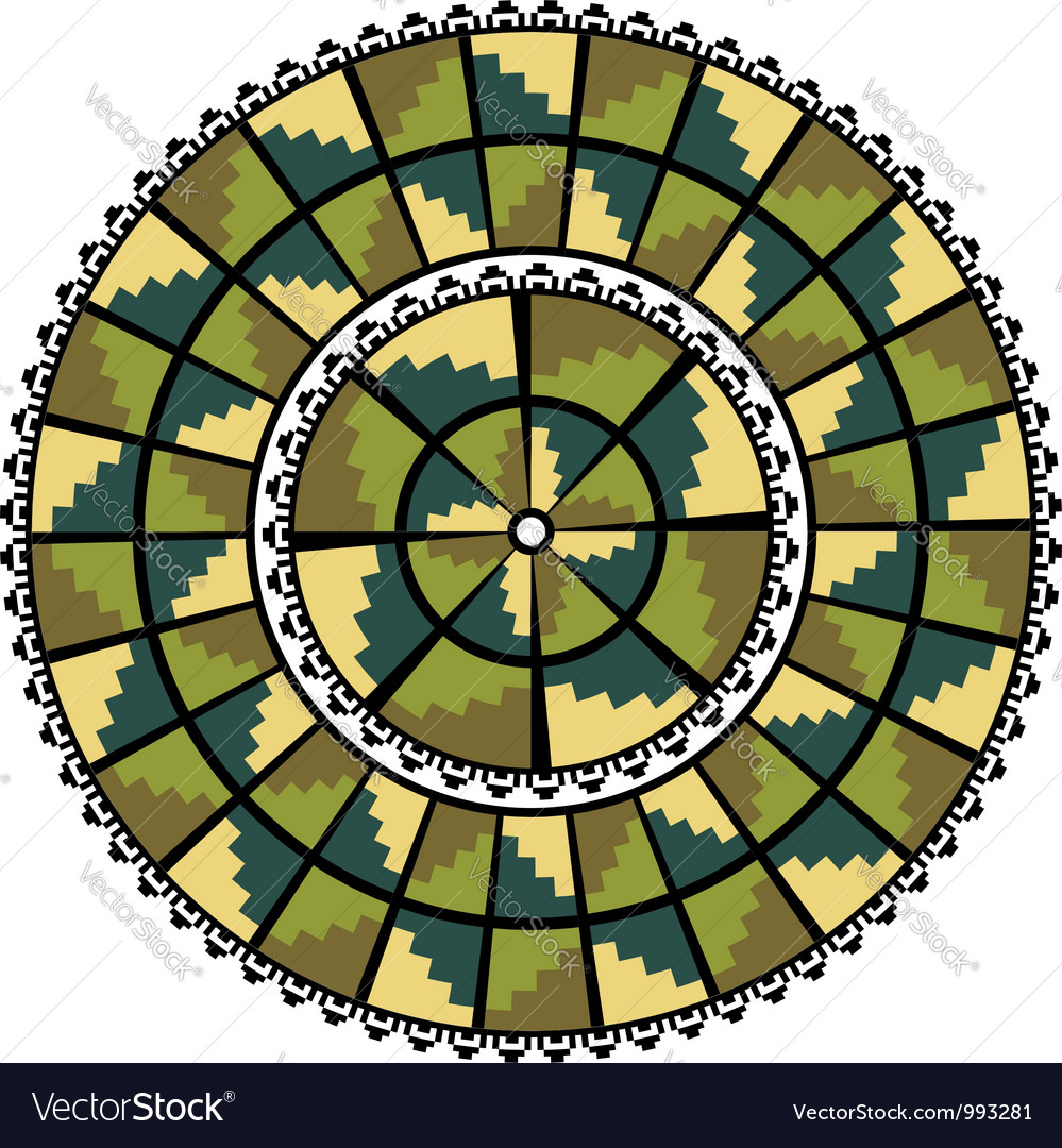 Inca iconography vector | Price: 1 Credit (USD $1)
