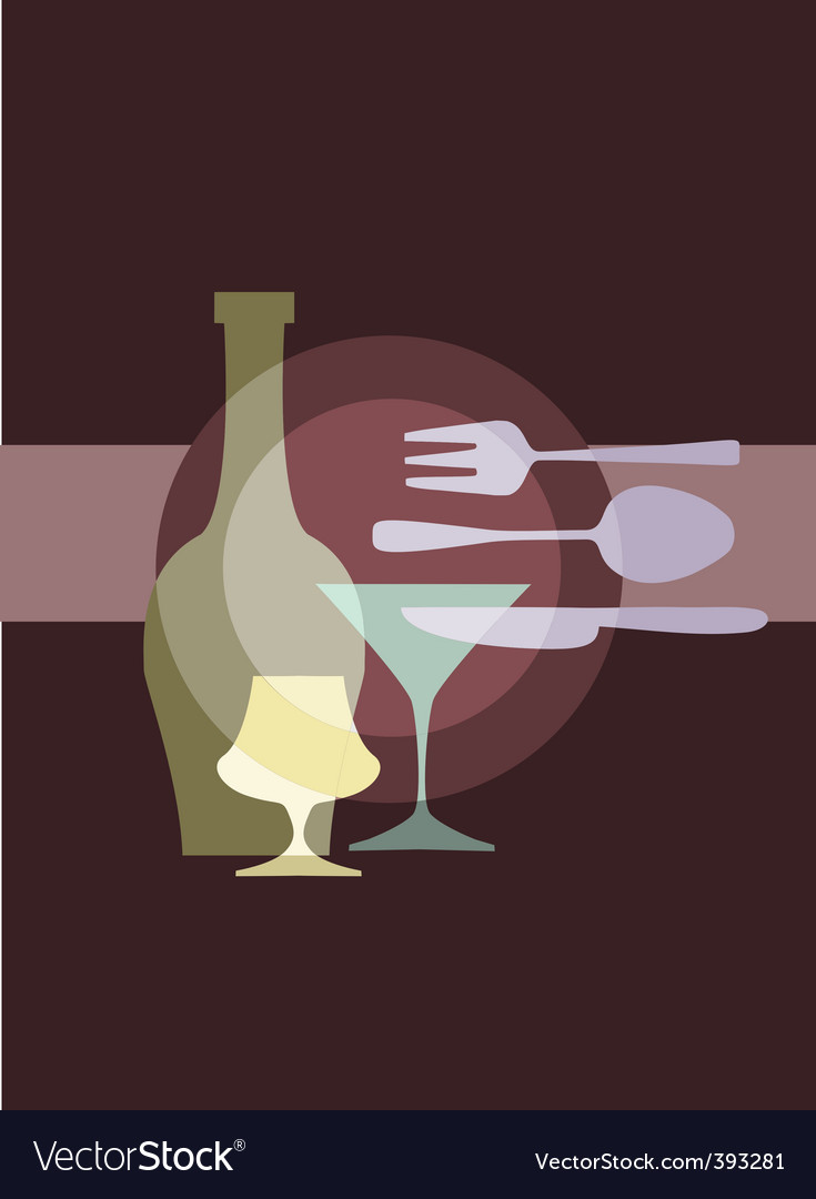 Restaurant and dining vector | Price: 1 Credit (USD $1)