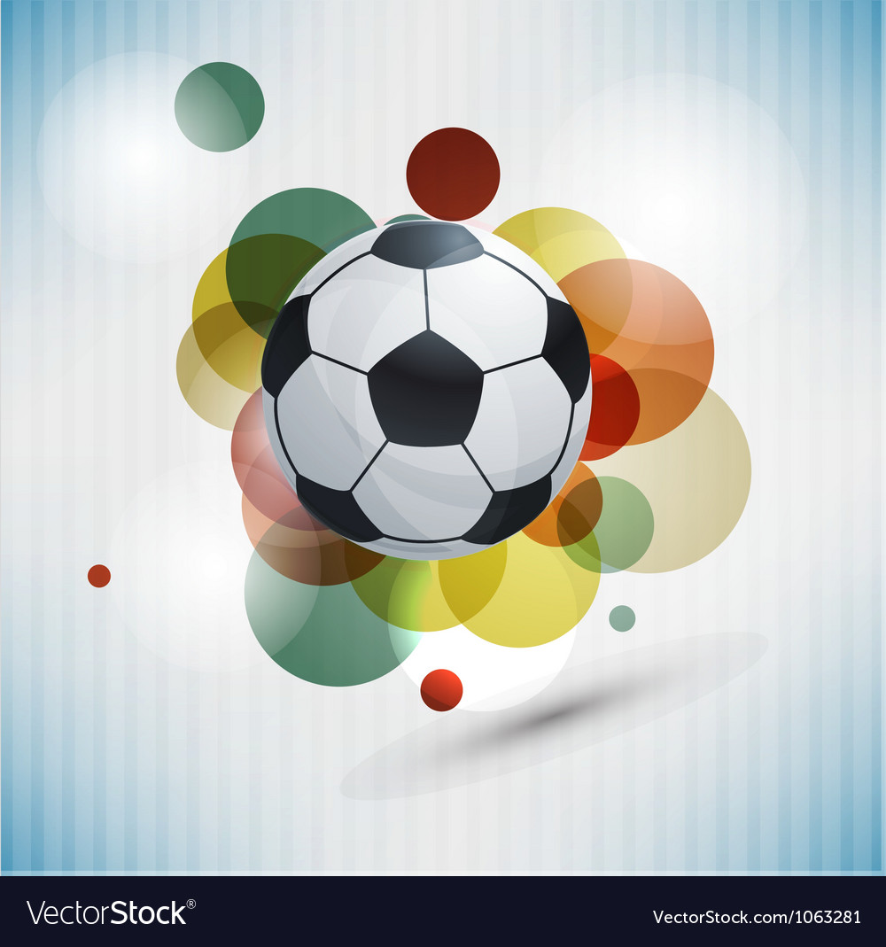 Soccer design background vector | Price: 1 Credit (USD $1)