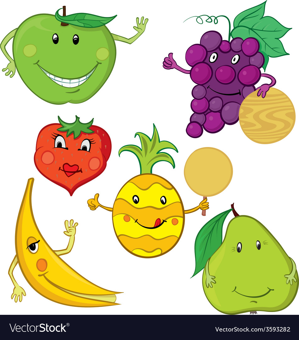Collection of fruit vector | Price: 1 Credit (USD $1)