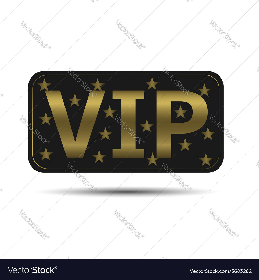 Vip icon vector | Price: 1 Credit (USD $1)