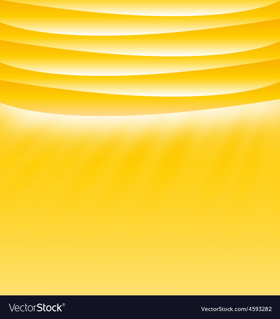 Yellow sunny template layout with place for text vector | Price: 1 Credit (USD $1)