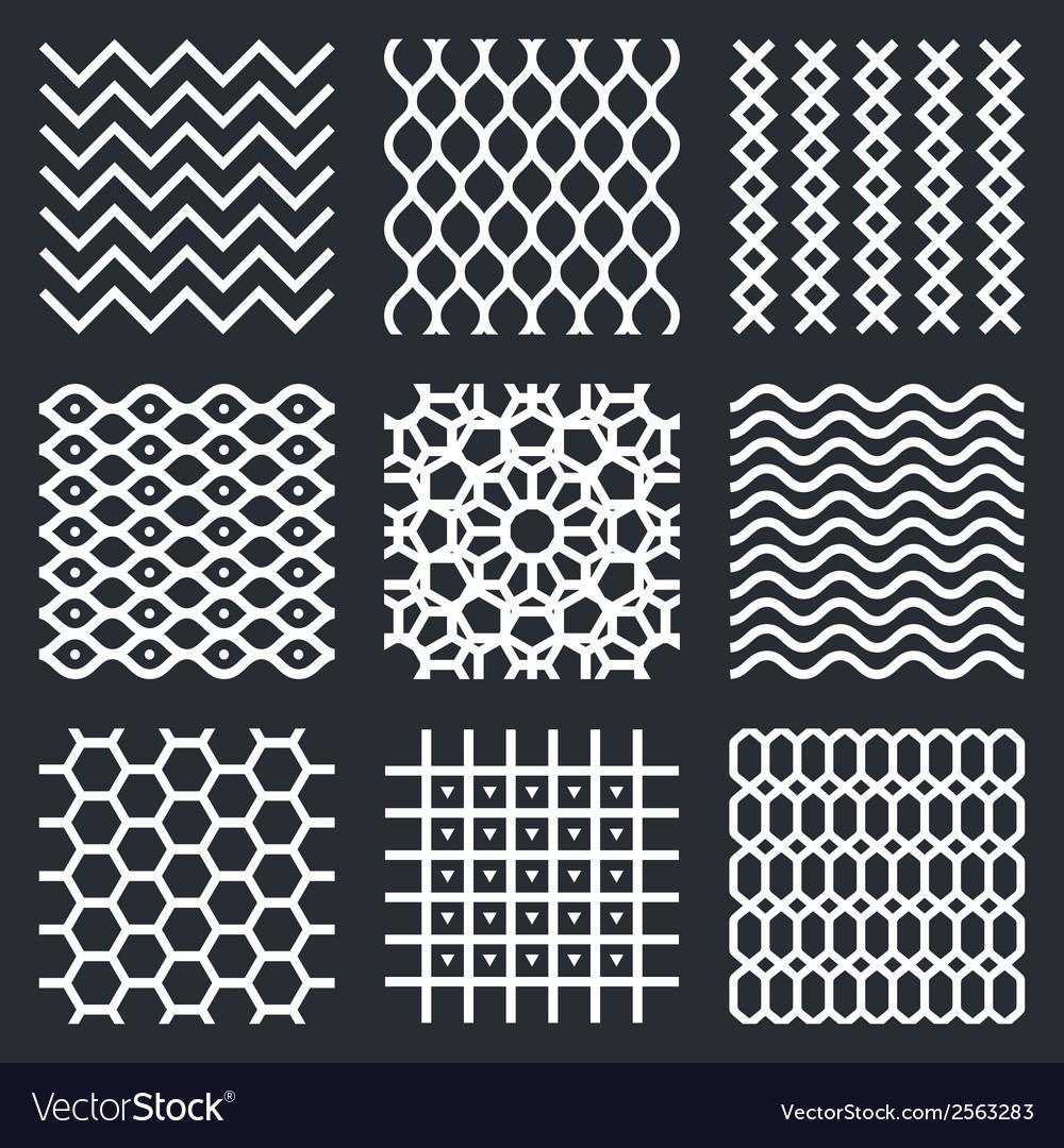 Geometric textures vector | Price: 1 Credit (USD $1)