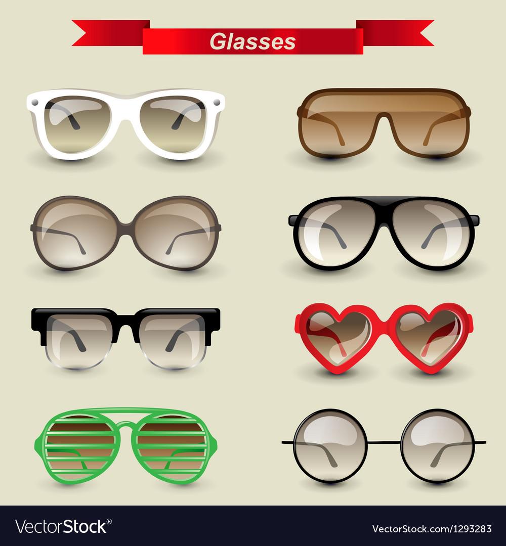 Glasses vector | Price: 3 Credit (USD $3)